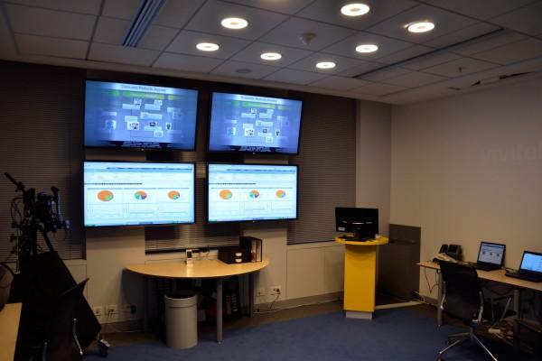 équipements audiovisuels, écrans